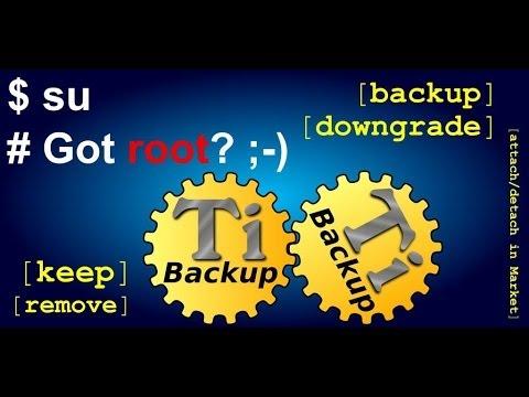 Как сделать резервные копии игр и приложений на Андроид(Titanium Backup)