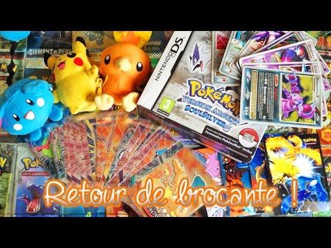 Mon retour de brocante Pokémon + Notre vitrine en EXCLU  Plein de couleurs et de bonnes affaires