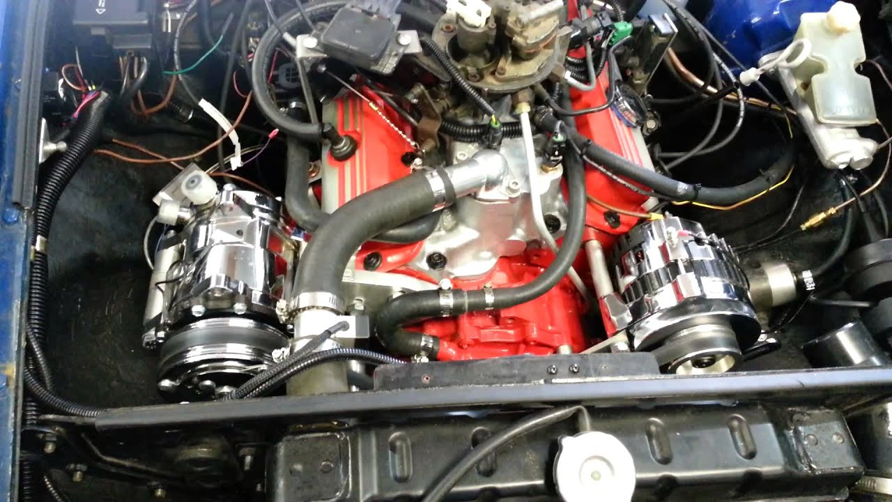 1972 Mgb Gt With 1987 2 8l Tbi V6 Engine Youtube