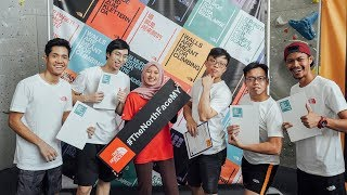"Terima Kasih The North Face Malaysia ""Global Climbing Day 2019"" 