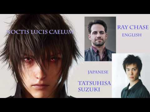 English VERSUS Japanese! Voice Compare For Final Fantasy XV