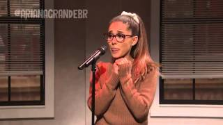 ARIANA GRANDE SATURDAY NIGHT LIVE [LEGENDADO]