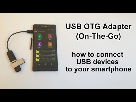USB OTG Adapter - How to Connect Mouse, External Drive, Keyboard etc.