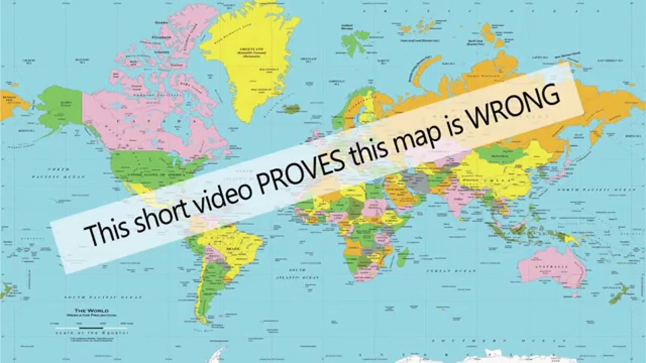 Greenland africa on the map are wrong youtube greenland africa on the map are wrong gumiabroncs Images