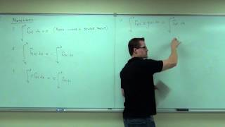 Calculus 1 Lecture 4.4:  The Evaluation of Definite Integrals