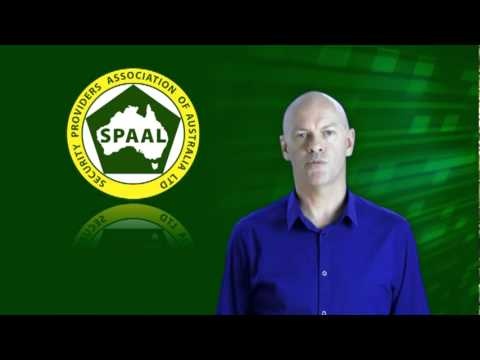 SPAAL, Qld Approved Security Industry Association Membership Information