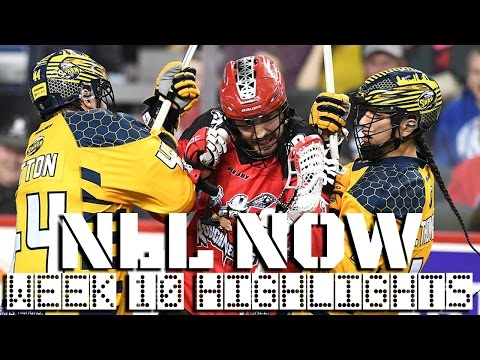 NLL Now: Best Highlights of Week 10 | National Lacrosse League