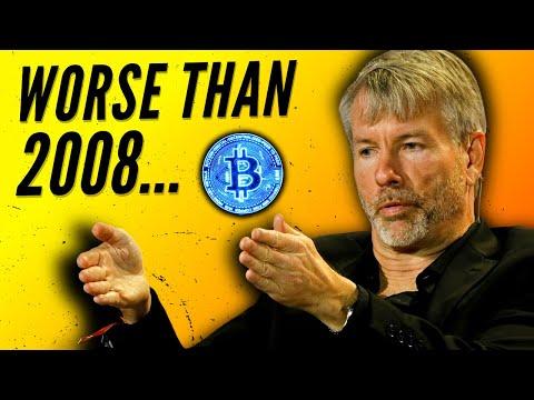 Michael Saylor Bitcoin - Expectation On a Coming Crash.