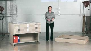 Safco 10 Drawer Flat File