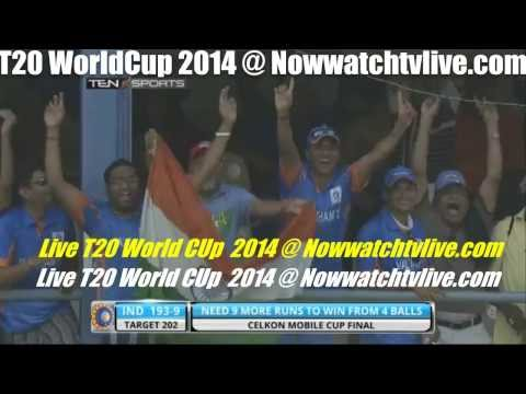 icc t20 world cup 2014 live stream  T20 World Cup live streaming 2014  Nowwatchtvlive.co