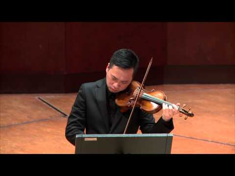 Chih-I Chiang(姜智譯)& David Fung play Schubert sonatina in a minor, Op.137, No.2