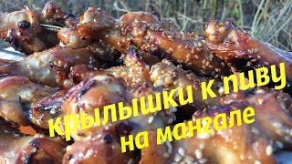 Крылышки бомба для любителей вкусной еды. Рецепт шикарных куриных крылышек.