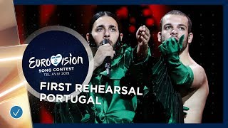 Portugal 🇵🇹 - Conan Osiris - Telemóveis - First Rehearsal - Eurovision 2019