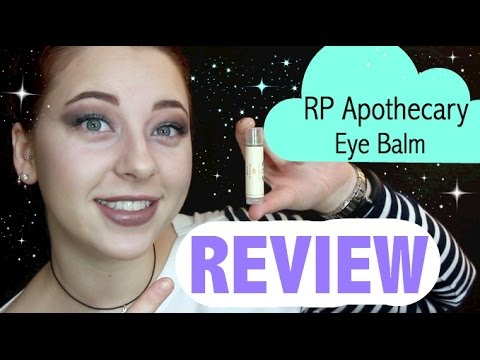 RP Apothecary/Brija Cosmetics Illuminate Eye Balm RAVE Review