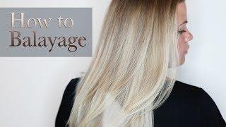 How To Balayage with Eliza Trendiak