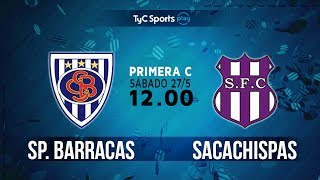 Sportivo Barracas vs Sacachispas FC full match