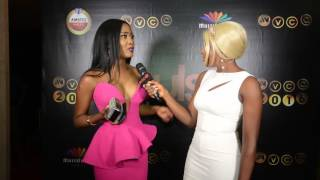 AMVCA 2016 Toni Tones Why I Stopped Singing  Pulse TV