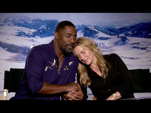 Idris Elba & Kate Winslet -- killing time with Scott Carty