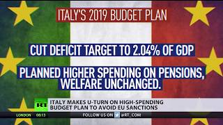 U-turn: Italy changes high-spending budget plan to avoid EU sanctions