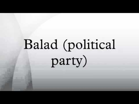Balad (political party) #