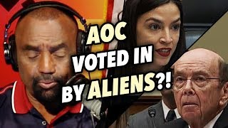 AOC Voted In By Aliens; Angry at Citizenship Question on 2020 Census