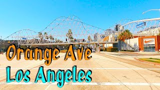 Orange Ave, Compton to Long Beach! Los Angeles Street Driving Tours. HD