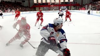 Team USA vs. Boston University Highlights