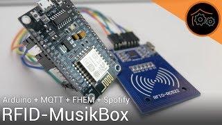 Musik über RFID-Tags auf Spotify abspielen (FHEM + Arduino + MQTT) | haus-automatisierung.com [4K]