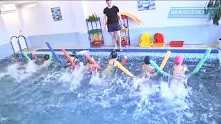 Уроки плавания в детском саду