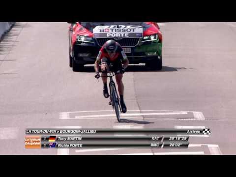 Best time for Richie Porte! - Stage 4 - Critérium du Dauphiné 2017