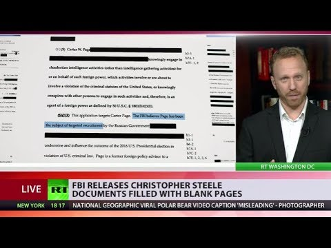 FBI paid Trump-Russia dossier author Christopher Steele, heavily redacted docs show