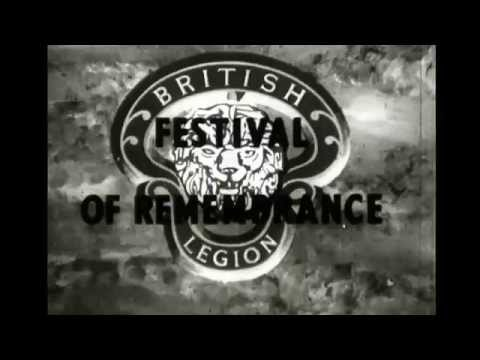 Royal British Legion's Festival of Remembrance 1954