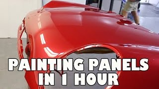 Painting New Panels in 1 hour (Damaged ones)