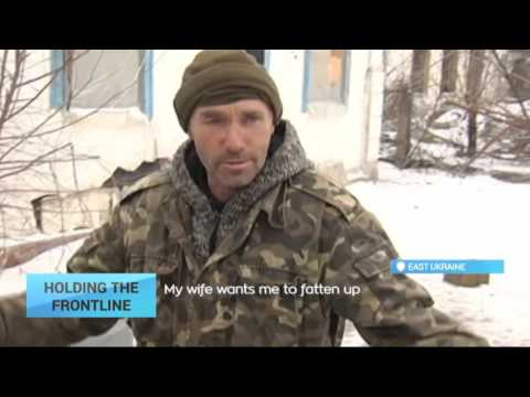 East Ukraine Conflict: Up close and personal with Ukrainian soldiers on frontline