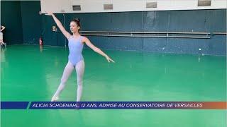 Alicia Schoenahl, 12 ans, admise au Conservatoire de Versailles