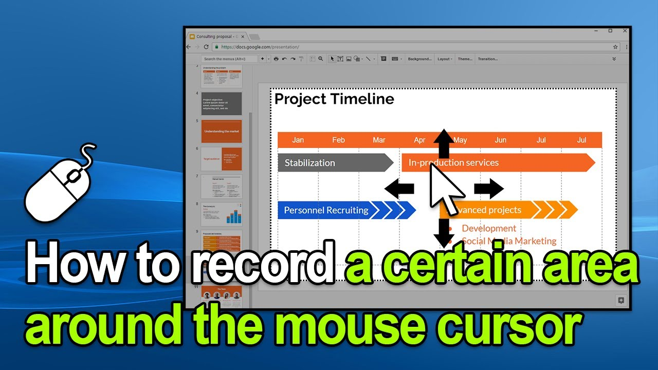 Screen Recorder - Around mouse screen capture - How to use Bandicam