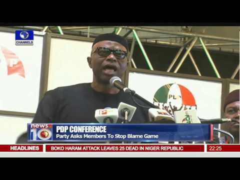 PDP Begins Rebranding Process Ahead Of Election Year 12/11/15