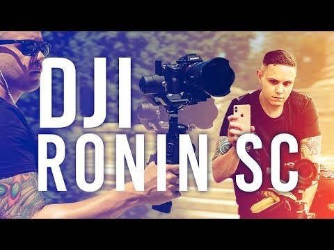 DJI's New Ronin-SC: A Smaller, Lighter, One-Handed Gimbal Stabilizer | First Look