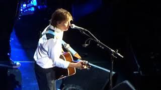 Paul McCartney YOU WON'T SEE ME Brooklyn NY 9/19/17