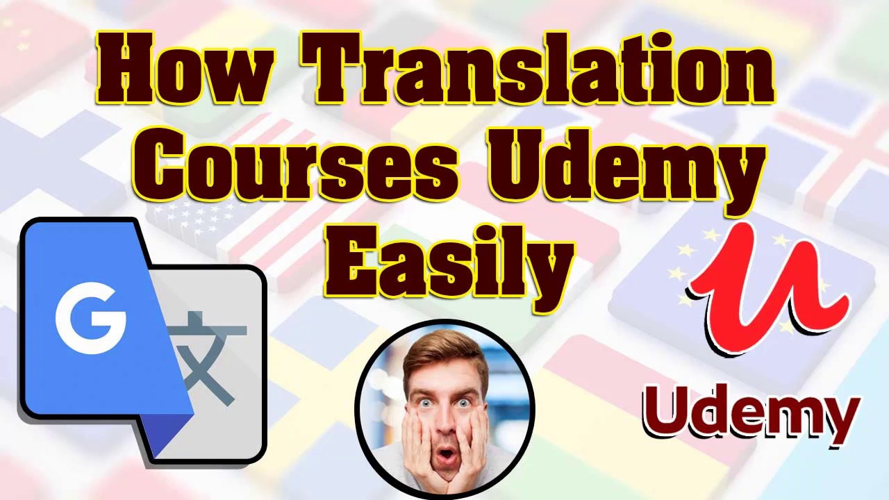 translating udemy courses into another language | how to translation udemy  courses