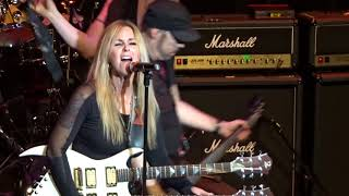 "Lita Ford in Emporia ""Kiss Me Deadly"" 12/02/17"
