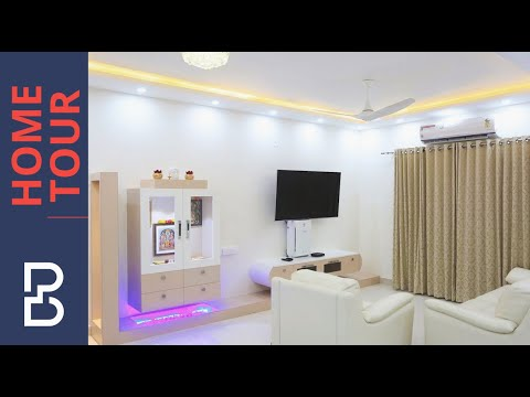 Walkthrough of 3 BHK Interiors of Mr. Nagaraj | Brigade Lake front | Bangalore