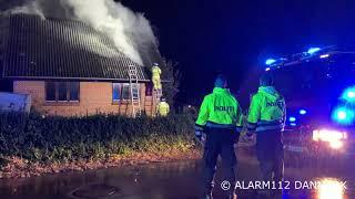 Brand i Villa Rårup