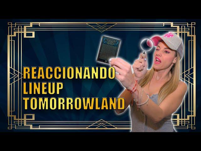 REACCIONANDO AL LINEUP DE TOMORROWLAND 2020 | SORPRESAS!
