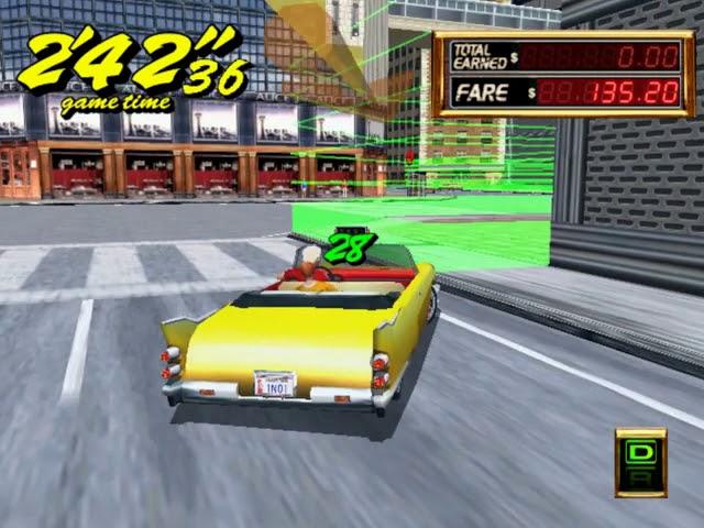 Jouez à Crazy Taxi 2 sur Sega Dreamcast