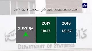 ارتفاع معدل التضخم 3% في كانون الثاني من العام 2018 - (12-2-2018)