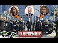 GTA V Online - Rolezinho de O Aprendiz na Band com Roberto Justus!