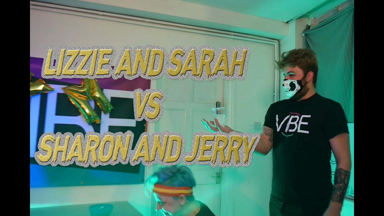 Kitchen Messi: Sarah & Lizzie vs Sharon & Jerry [WATER WARS]