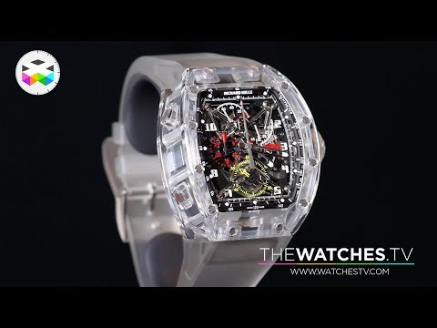 The incredible sapphire RM056 by Richard Mille