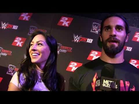 Seth Rollins talks bringing his girlfriend to a Metal Show | Metal Injection